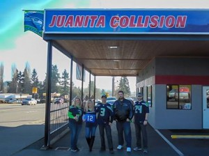 Juanita Collision Building